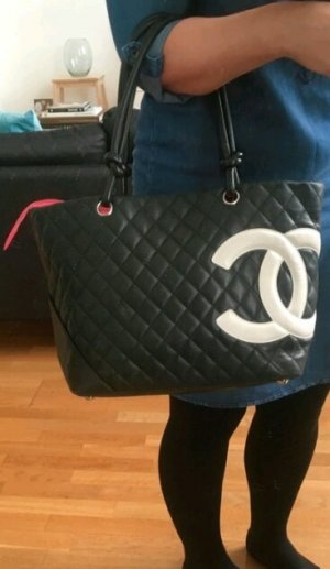 Original Chanel Cambon Shopper Handtaschen tote