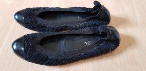 Original Chanel CC Ballerina flats aus Tweet Bouclé