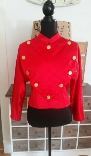 original Chanel Couture Jacke Seide