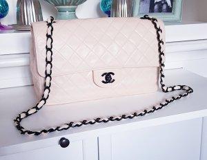 Chanel Borsetta nero-rosa pallido Pelle