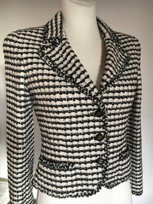 Original Chanel Jäckchen schwarz weiß