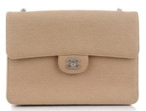 Original Chanel Jersey Single Flap Jumbo
