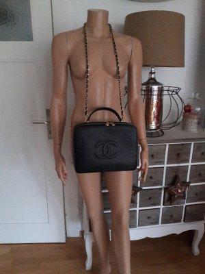 original Chanel Jumbo Vanity Kaviarleder Bag