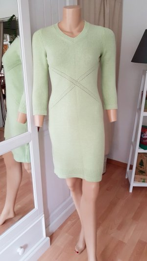 original Chanel Kaschmir Kleid eisfarbend