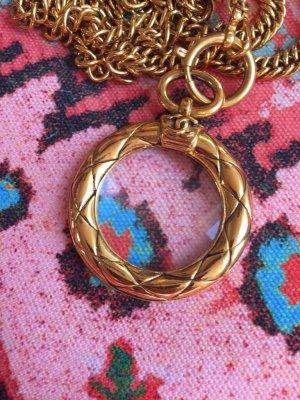 Chanel Cadena de oro amarillo