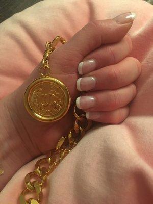 Original Chanel Kettengürtel, goldfarben