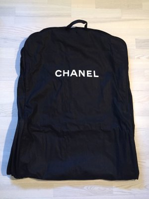 Chanel Suit Bag black-white