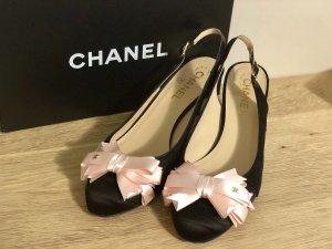 Chanel Slingback pumps veelkleurig