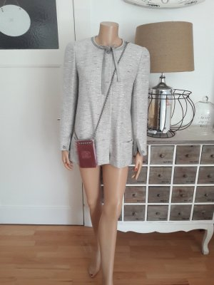 original Chanel Metallic Bouclé Jacke