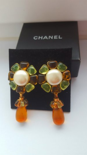 Original Chanel Ohrclips Gripoix