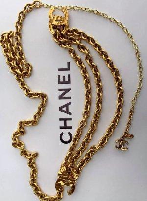 Original Chanel Paris Designer Ketten Gürtel Stempel oder als Kette