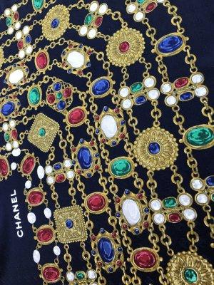 Original Chanel Paris Designer Seidentuch silk scarf