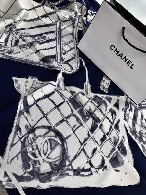 Original Chanel Paris Designer Seidentuch Tuch silk scarf foulard Carre