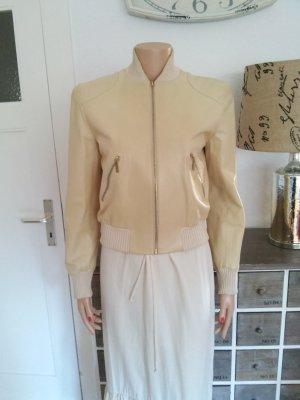 original Chanel Piloten Leder Jacke