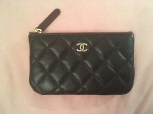 Original Chanel Pouch schwarz