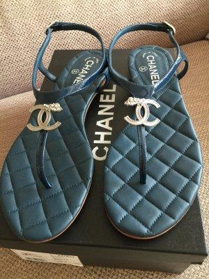 Original Chanel Sandalen Zehreisser in 38,5 nagelneu