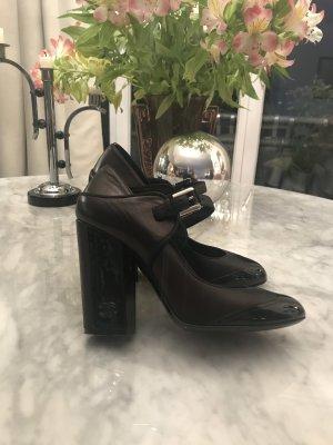Original Chanel - Schuhe Gr. 38 schwarz