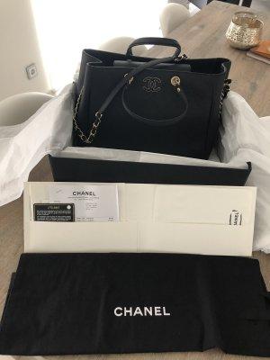 Chanel Shopper noir cuir