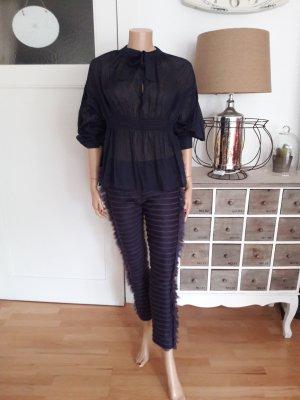 original Chanel Skinny Seiden Pants