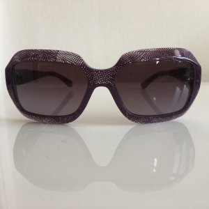 Original Chanel Sonnenbrille Cat Eye Purple Spitzenoptik toller Effekt