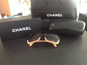 Chanel Glasses brown