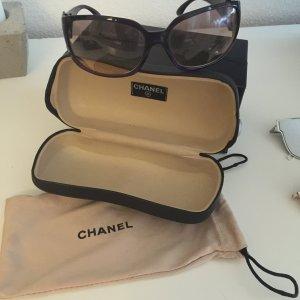 Original Chanel Sonnenbrille neu lila Silver