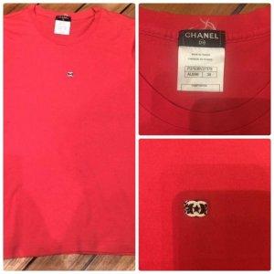 Original Chanel T-Shirt Größe 36DE38FR Baumwolle Top Zustand ! Np-387€