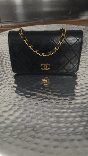 original Chanel Tasche mini full flap wallet on chain