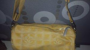 Original Chanel Travel Line Tasche gelb