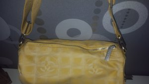 Original Chanel Travel Line Tasche gelb