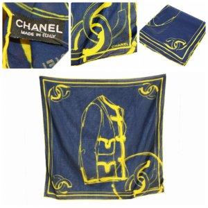 Original Chanel Tuch,Schal 55cm x 55cm  Baumwolle