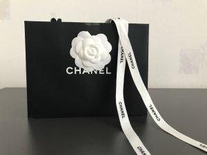Original Chanel Tüte Papiertüte Tragetasche neu!