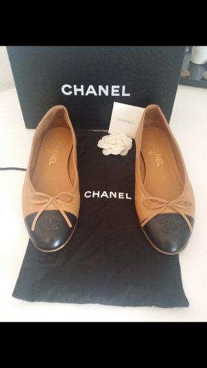 Original Chanel Two Tone Ballerina