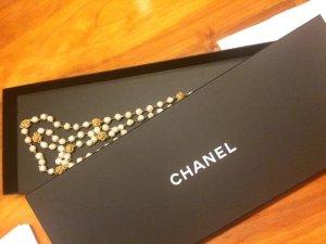 Original-CHANEL Vintage-Gripoix-Perlenkette-extralang 180 cm
