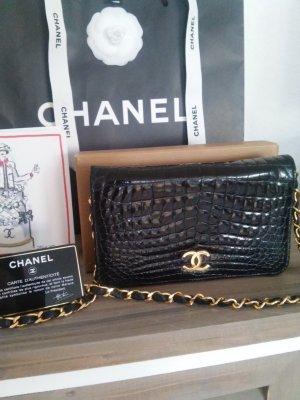 original Chanel Wallet on Chain aus echtem Krokodil Leder