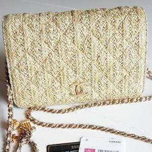 Chanel Borsetta oro-crema