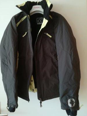 Original CHIEMSEE THINSULATE Jacke mit Logos und Innenfutter aus Samt, winddicht, wasserabweisend, wetterfest, Gr. 40
