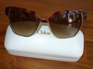 Chloé Glasses brown synthetic material