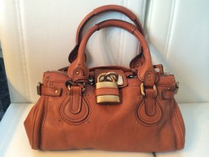 Original Chloé Paddington Bag rostbraun