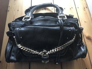Original Chloé Paddington Capsule Handtasche schwarz/anthrazit