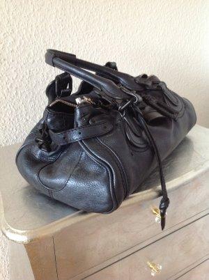 Original Chloe Paddington Tasche Satchel Bag Macie bleu nuit metallic 1190€