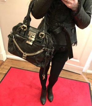 Original Chloé Paddington XL schwarz iconic designer Tasche (Henkeltasche)