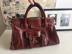 Original Chloé Tasche aus schönem braunen Leder