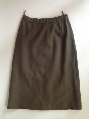 Original Chloé Vintage Wollrock Bleistiftrock Pencil-skirt in taupe (warmes grau)
