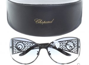Chopard Glasses silver-colored-black