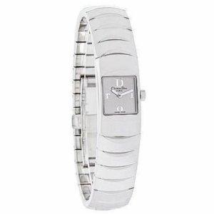 Original Christian Dior Paris Damen Uhr aus Edelstahl
