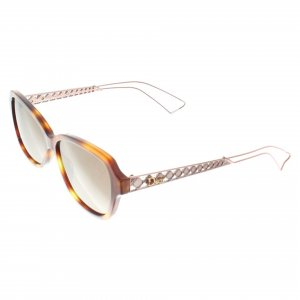 Christian Dior Aviator Glasses bronze-colored synthetic material