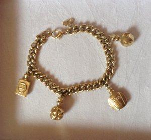 Original Christian Dior Vintage Bettelarmband/Armband mit Parfümanhängern