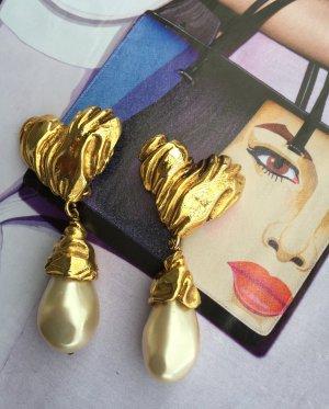Original Christian Lacroix Paris  Designer Ohrclipse earrings