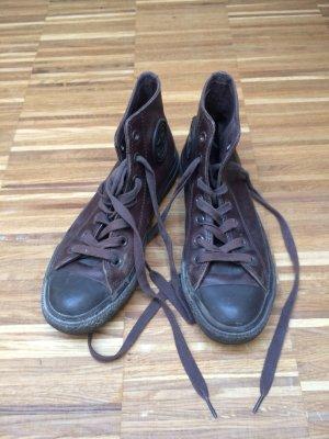 Original Chucks - Converse- aus echtem Leder gebraucht kaufen  Wird an jeden Ort in Österreich